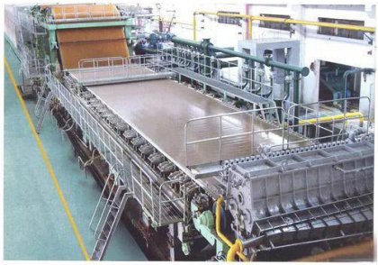Practice of energy saving and consumption reduction for large cardboard paper machine