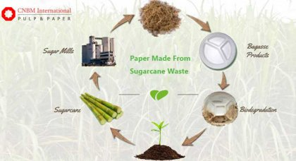 How to make pulp with bagasse