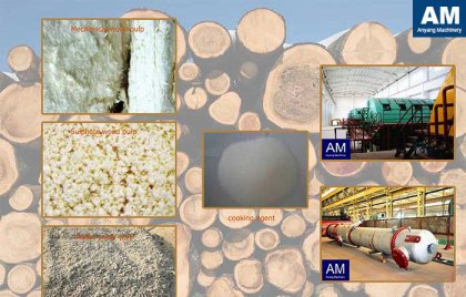Compare of wood pulp paper and bamboo pulp paper